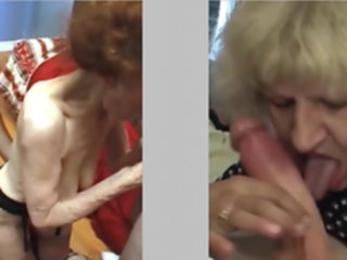 Grannies and Crossdressers totally perverted -2- crossdressers